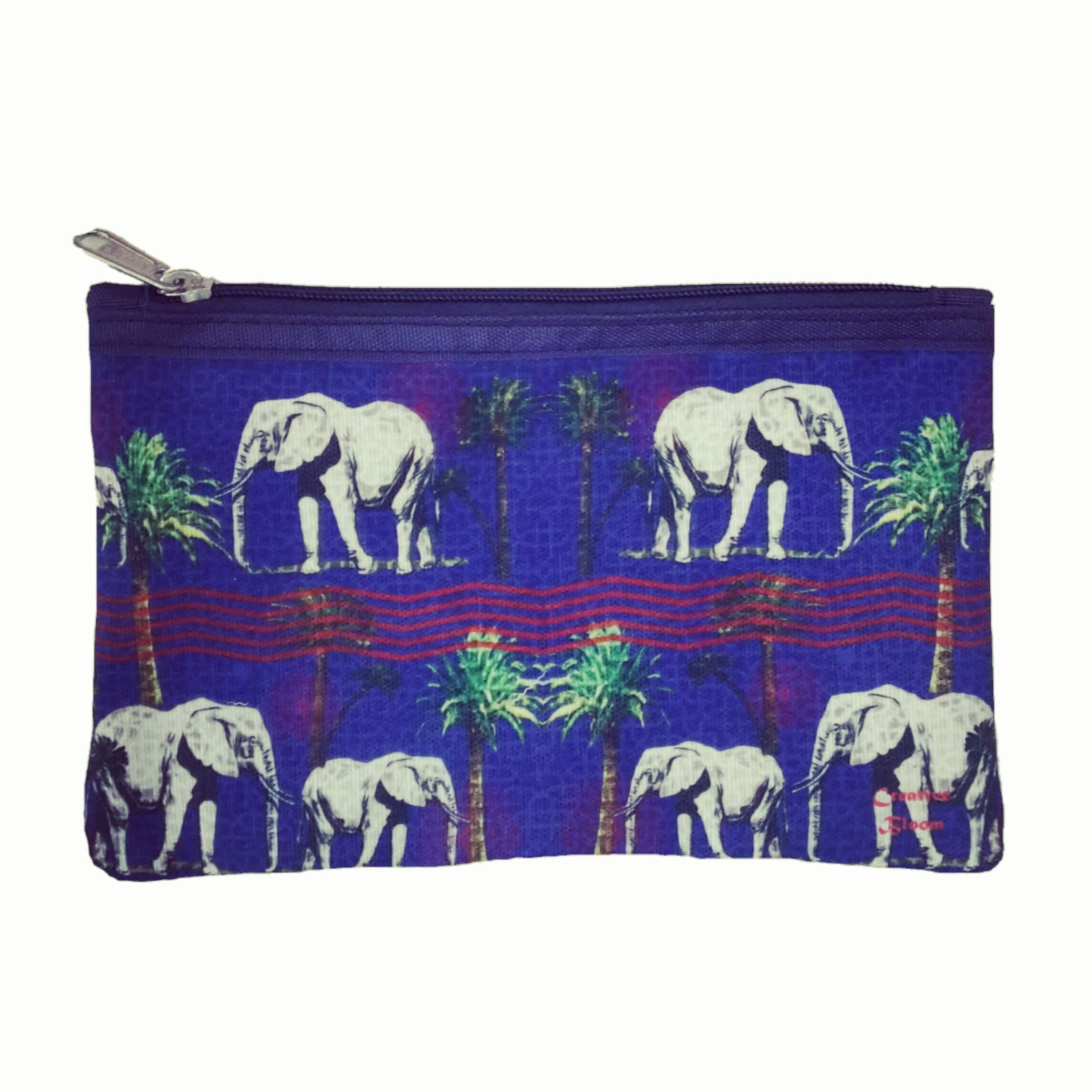 Elephants in the jungle Pouch